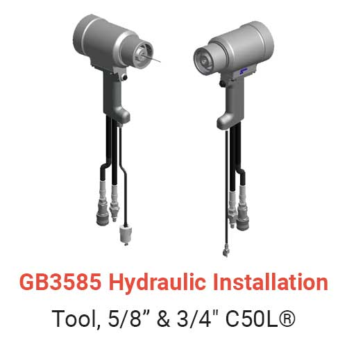 GB3585 Hydraulic Installation Tool