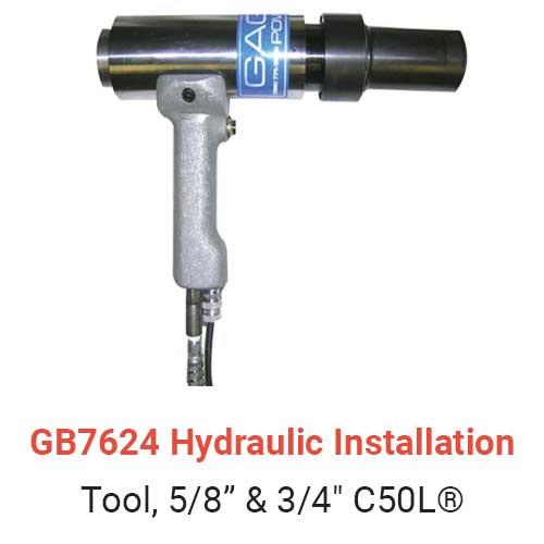 GB7624 Hydraulic Installation Tool
