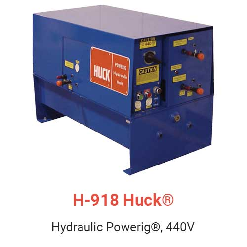 H-918 Huck Hydraulic Powerig, 440V